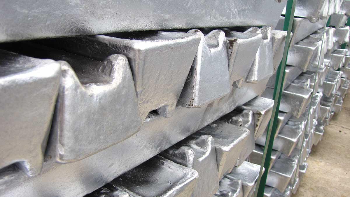 aluminum ingots-شمش آلومینیوم