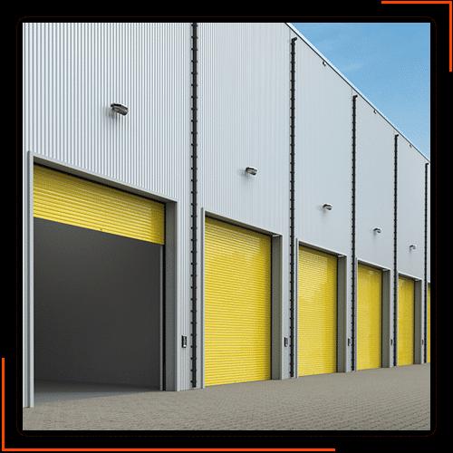 aluminium roll-up doors