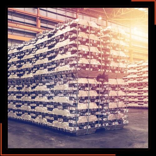 ایراک - تولیدکننده انواع شمش های آلومینیومی