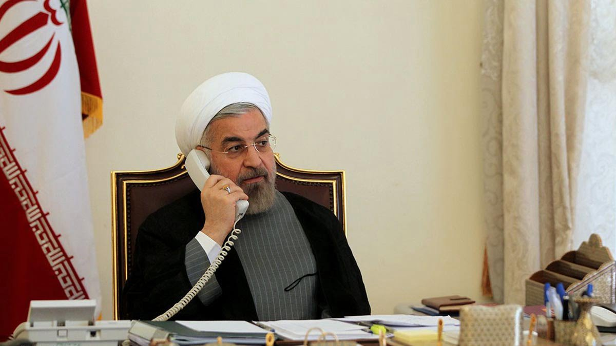 گفتگوی تلفنی روحانی و مکرون-توقف تحریمها میتواند آغازی برای یک حرکت بین ایران و 1+5 باشد