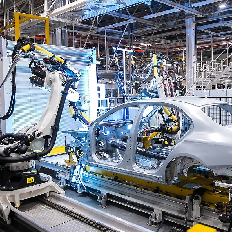 ایراک تولید کننده پروفیل و مقاطع آلومینیومی مورد استفاده در صنایع خودروسازی