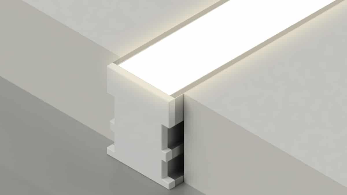 چراغ خطی یا Linear lighting